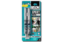 ΚΟΛΛΑ ΕΠΟΞΙΚΗ BISON EPOXY SYRINGE METAL 24ML