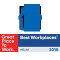 Διάκριση 'Best Workplaces 2018'