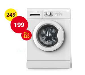 Πλυντήριο Ρούχων United 6KG