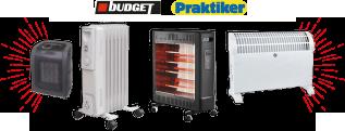 Ηλεκτρικά Θερμαντικά Budget & Praktiker