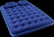 Φουσκωτό στρώμα ύπνου διπλό με 2 μαξιλάρια 19,90€