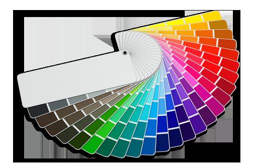 ψηφιακή βεντάλια χρωμάτων Praktiker