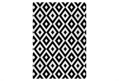 ΧΑΛΙ GENOVA HOME VIOLA BLACK&WHITE CHENILLE 160X230CM