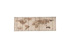ΚΑΜΒΑΣ ΖΩΓΡΑΦΙΚΗΣ WORLD MAP 120Χ40CM