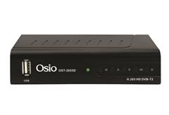 ΕΠΙΓΕΙΟΣ ΨΗΦΙΑΚΟΣ ΔΕΚΤΗΣ OSIO OST-2655D FULL HD DVBT2 MPEG-4