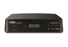 ΕΠΙΓΕΙΟΣ ΨΗΦΙΑΚΟΣ ΔΕΚΤΗΣ OSIO OST-2660D FULL HD/DVBT2 MPEG-4 ΜΕ ΧΕΙΡΙΣΤΗΡΙΟ