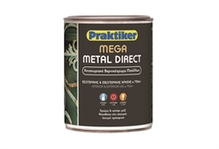 ΒΕΡΝΙΚΟΧΡΩΜΑ MEGA METAL DIRECT ΜΟΛΥΒΙ 0,75LT