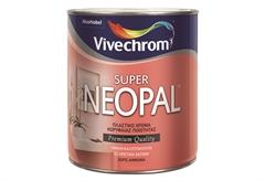 ΧΡΩΜΑ VIVECHROM SUPER NEOPAL ΜΑΥΡΟ 0,20LT