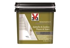 ΧΡΩΜΑ ΑΝΑΚAINΙΣΗΣ V33 RENOVATION PERFECTION FLOORS & STAIRS 0,75LT WHITE SATIN