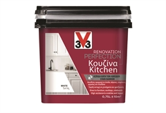 ΧΡΩΜΑ ΑΝΑΚAINΙΣΗΣ V33 RENOVATION PERFECTION KITCHEN 0,75LT WHITE SATIN