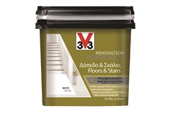 ΧΡΩΜΑ ΑΝΑΚAINΙΣΗΣ V33 RENOVATION PERFECTION FLOORS & STAIRS 0,75LT TITANIUM SATIN