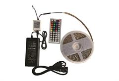 ΤΑΙΝΙΑ LED 5M 14,4W/M RGB IP65 ΜΕ ΤΡΟΦΟΔΟΤΙΚΟ