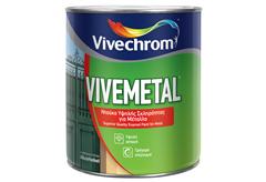ΒΕΡΝΙΚΟΧΡΩΜΑ VIVECHROM VIVEMETAL ΜΑΥΡΟ 2,5LT