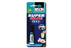 ΚΟΛΛΑ ΣΤΙΓΜΗΣ BISON SUPER GLUE GEL 3GR