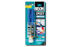 ΚΟΛΛΑ ΕΠΟΞΙΚΗ BISON EPOXY SYRINGE UNIVERSAL 24ML
