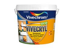 ΧΡΩΜΑ VIVECHROM VIVECRYL ECO ΒΑΣΗ P, 10LT
