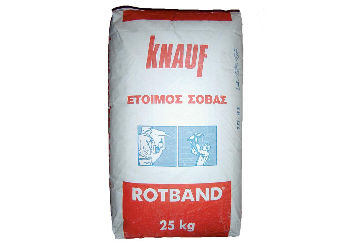 ΕΤΟΙΜΟΣ ΣΟΒΑΣ knauf rotband 25kg | praktiker
