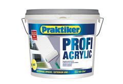 ΧΡΩΜΑ PRAKTIKER PROFI ACRYLIC ΒΑΣΗ P 10LT