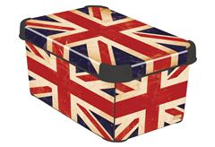 ΚΟΥΤΙ ΑΠΟΘΗΚΕΥΣΗΣ STOCKHOLM CURVER BRITISH FLAG Μ