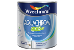 ΡΙΠΟΛΙΝΗ VIVECHROM AQUACHROM ECO SATINE ΛΕΥΚΟ 0,75LT