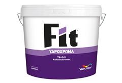 ΥΔΡΟΧΡΩΜΑ VIVECHROM FIT ΛΕΥΚΟ 9LT