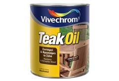 ΛΑΔΙ ΠΡΟΣΤΑΣΙΑΣ ΞΥΛΟΥ VIVECHROM TEAK OIL