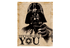 ΑΦΙΣΑ MINIPOSTER 380 STAR WARS DARTH VADER 40X50CM
