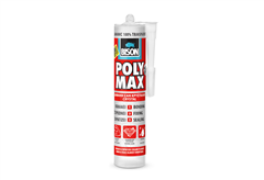ΚΟΛΛΑ BISON POLY MAX CRYSTAL CLEAR 300GR