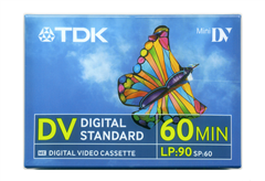 MINI DV TAPE TDK 60MIN, ΓΙΑ ΚΑΜΕΡΑ
