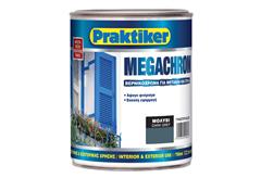 ΒΕΡΝΙΚΟΧΡΩΜΑ PRAKTIKER MEGACHROM ΜΟΛΥΒΙ 0,75LT