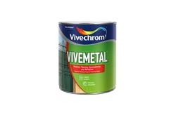 ΒΕΡΝΙΚΟΧΡΩΜΑ VIVECHROM VIVEMETAL SATIN ΛΕΥΚΟ 0,75LT