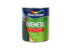 ΒΕΡΝΙΚΟΧΡΩΜΑ VIVECHROM VIVEMETAL SATIN ΜΑΥΡΟ 2,5LT