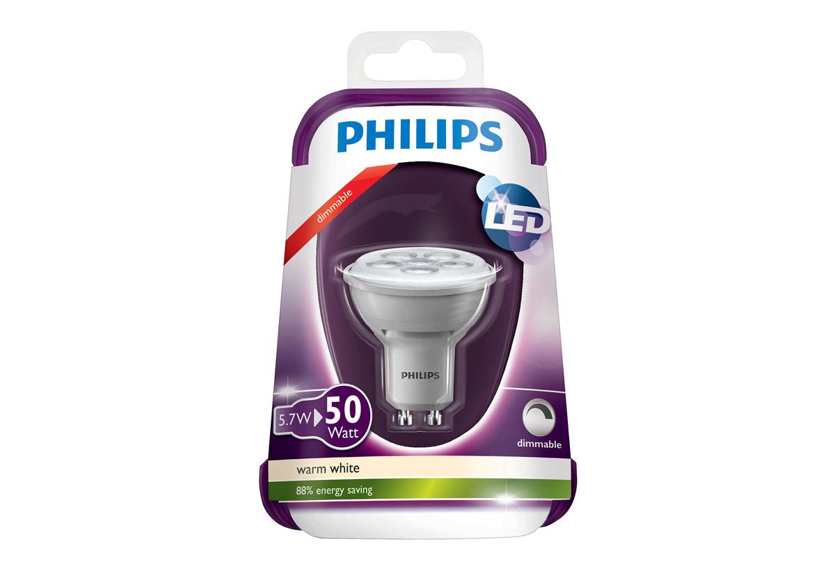 ΛΑΜΠΑ LED PHILIPS ΣΠΟΤ DIMMABLE 5 b1f45967b9a