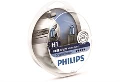 ΛΑΜΠΤΗΡΕΣ PHILIPS H1 CRYSTAL VISION 55W, ΣΕΤ 2 ΤΕΜΑΧΙΑ