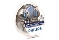 ΛΑΜΠΤΗΡΕΣ PHILIPS H4 CRYSTAL VISION 55W ΣΕΤ 2 ΤΕΜΑΧΙΑ