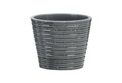 ΚΑΣΠΩ ΚΕΡΑΜΙΚΟ SCHEURICH GLASS GREY Φ.15X12,8CM ΓΚΡΙ