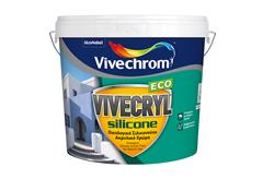 ΧΡΩΜΑ VIVECHROM VIVECRYL SILICONE ECO ΒΑΣΗ P 10LT