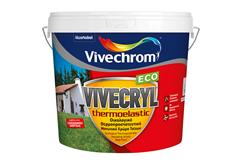 ΧΡΩΜΑ VIVECHROM VIVECRYL THERMOELASTIC ECO ΒΑΣΗ P 10LT