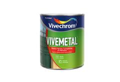 ΒΕΡΝΙΚΟΧΡΩΜΑ VIVECHROM VIVEMETAL SATIN ΒΑΣΗ D 0,75LT