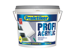 ΧΡΩΜΑ PRAKTIKER PROFI ACRYLIC ΒΑΣΗ P 1LT