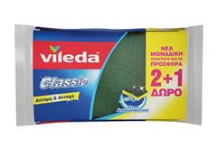 ΣΦΟΥΓΓΑΡΑΚΙ VILEDA CLASSIC 2+1 ΔΩΡΟ