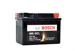 ΜΠΑΤΑΡΙΑ ΜΟΤΟΣΥΚΛΕΤΑΣ BOSCH M6001 AGM
