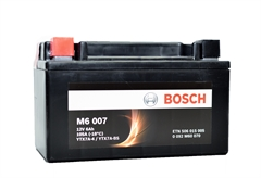 ΜΠΑΤΑΡΙΑ ΜΟΤΟΣΥΚΛΕΤΑΣ BOSCH M6007 AGM