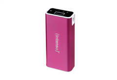 POWER BANK INTENSO 5200MAH ALU ΡΟΖ