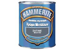 HAMMERITE ΣΑΤΙΝΕ ΜΑΥΡΟ 0,75LT