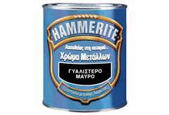ΑΝΤΙΣΚΩΡΙΑΚΟ ΒΕΡΝΙΚΙ HAMMERITE ΓΥΑΛΙΣΤΕΡΟ ΛΕΥΚΟ 2,5LT