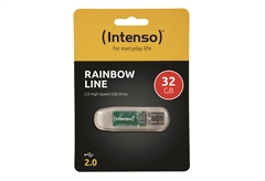 USB STICK 2.0 INTENSO RAINBOW 32GB