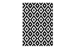 ΧΑΛΙ CHENILLE BLACK&WHITE 160Χ230CM