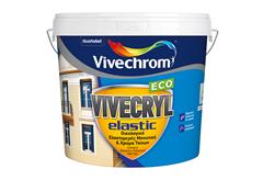 ΧΡΩΜΑ VIVECHROM VIVECRYL ELASTIC ECO ΛΕΥΚΟ 3LT