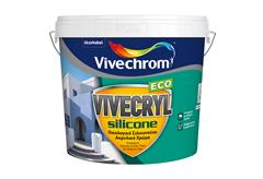 ΧΡΩΜΑ VIVECHROM VIVECRYL SILICONE ECO ΒΑΣΗ P 3LT